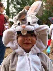 Kayden's little brother, Dillon the Rabbit