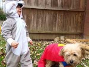 """Dillon and Superdog """"Chuck"""""""