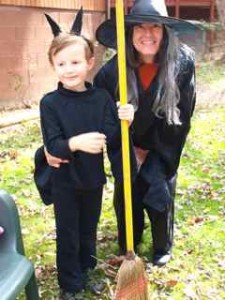 """Ms. Gayle and a """"Bat"""""""