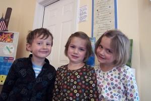 Nico, Olivia, and Juliette