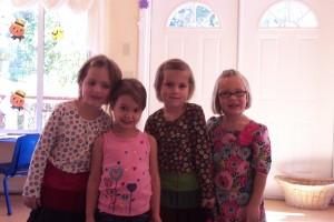 Some Cute Montessori Girls!